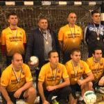 Гвардейците отново шампиони на Софийското гарнизонно първенство по футбол на малки врати