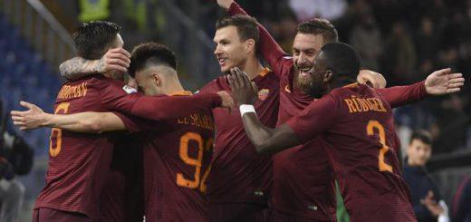 Soccer: Serie A, Roma-Fiorentina
