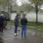 Ден на отворените врати - урок по отбрана в поделението в Мусачево