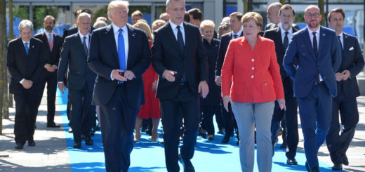 Dedication of the 9/11 and Article 5, and Berlin Wall Memorials - Meeting of NATO Heads of State and Government in Brussels