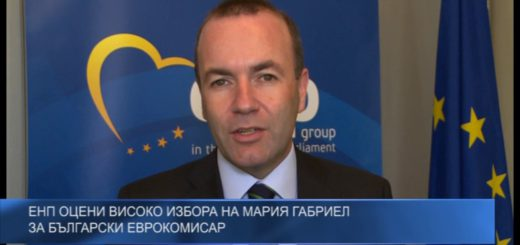 ЕНП оцени високо избора на Мария Габриел за български еврокомисар