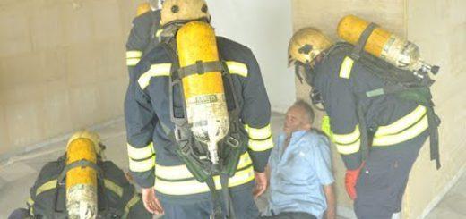 ВМА и Столичната пожарна тренираха евакуация