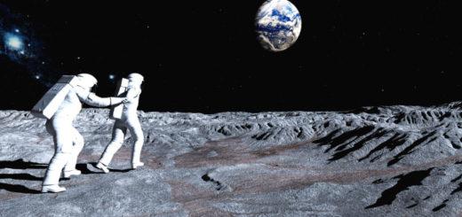 Follow me on the Moon