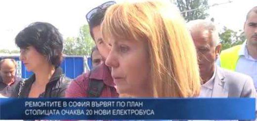 Пътищата в столицата – ремонтите в София вървят по план