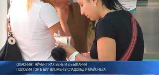 Опасният яйчен прах вече и в България – половин тон е бил вложен в сладолед и майонеза