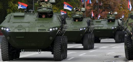 serbia army