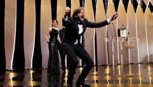 Директор Рубен Остлунд, носител на наградата Палме д'Ор за филма си The Square, реагира.
