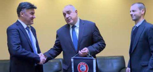 Aлександър Чeферин е на посещение в България