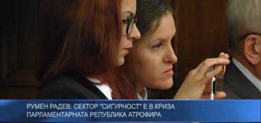 """Румен Радев: Сектор """"Сигурност"""" е в криза. Парламентарната република атрофира"""