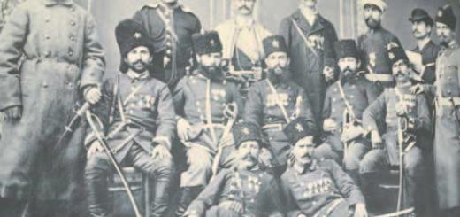 Наградени с ордени и медали опълченци поборници – участници в Сръбско-българската война (1885). Фотографията е доставена от Държавна агенция архиви