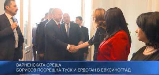 Варненската среща: Борисов посрещна Туск и Ердоган в Евксиноград