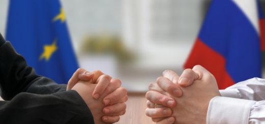 Negotiation of Russia and European Union. Statesman or politicians.