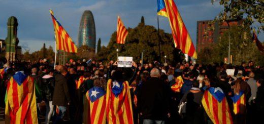 catalunia protest