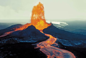 Massive Eruption of Kilauea Volcano, Hawaii