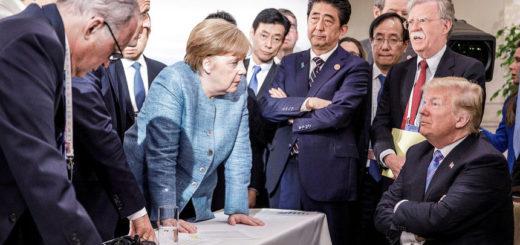 G-7_Donald_ Merkel