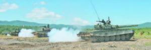 Полигон 'Ново село' се разтърси от гърмежите по време на щатния изстрел с танк Т-72
