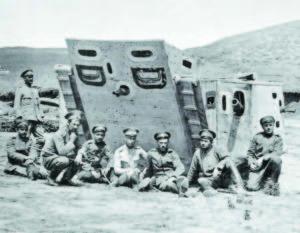 Български войници на Дойран