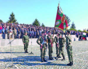Военната клетва е едно от най-тържествените събития в живота на всеки курсант  Фото авторът