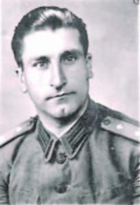 Георги Иванов като поручик Фото:архив на автора