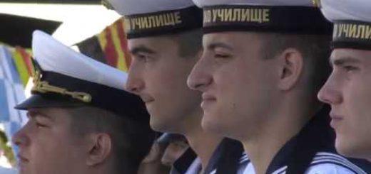 Празник на ВМС.Първо офицерско звание за курсантите от ВВМУ