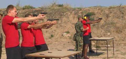 Турнир по стрелба на военния полигон в Црънча.