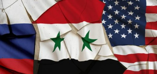 Russia-Syria-US-flags-600x400
