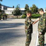 Награждаване на военнослужещ от състава на 78-ми батальон за осигуряване - София