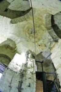 Зидарията е уникална и превръща архитектурата на съоръжението в произведение на изкуството