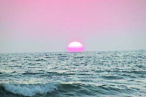 Залез над Йонийско море
