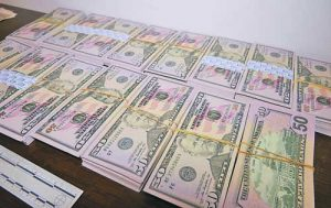 фалшиви долари