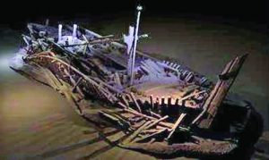 Корабът на дъното на Черно море