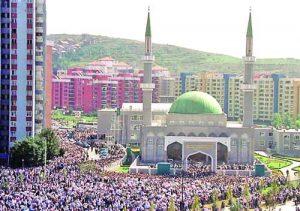 Джамията 'Крал Фахд' в Сараево е една от най-големите на Балканите