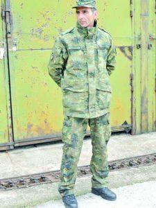 Старши сержант Стефан Драганов            Фото: авторът