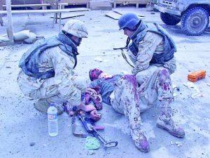Тежко е нараняването по време на атентата в база 'Индия'  Фото  Мариан Колев