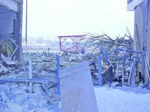 Огромни са разрушенията след взрива