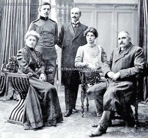 Семейството на Стоян Заимов, Владимир е поручик в навечерието на Балканската война Фото 'Изгубената България'