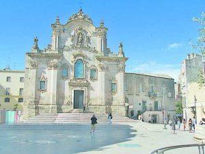 Църквите в Матера са с богата украса