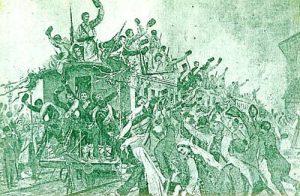 Възторжено изпращане на войските за защита на Съединението