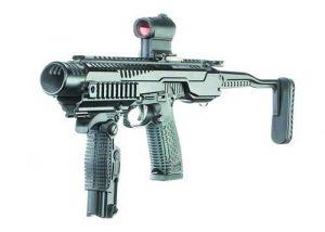 'Стриж' като картечен пистолет