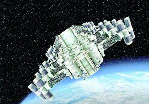 Космическите изтребители представляват композиции от изображенията на високоволтови съоръжения: силови трансформа-тори; компенсатори; модули наелегазови разпределители; трансформатори; комутационни устройства и изолаторни вериги, които са в експлоатация към националната електроенергийна система