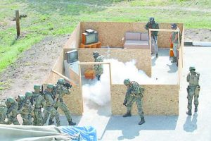 По време събитието на полигона в Црънчаго бяха отработени елементи от всички задачи на силите за специални операции, сред които и действия по неутрализиране на терористи в сгради