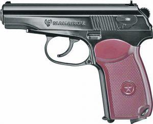 пневматичен пистолет Макаров с балончета втечнен газ