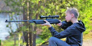 тинейджър въздушна пушка