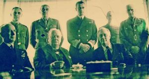 С Чърчил и Рузвелт в Казабланка през войната