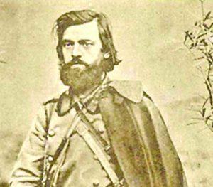 Войводата Борис Сарафов, офицер от Българската армия, символ на свободата в героично Крушево