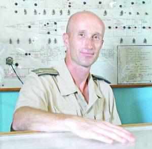 Капитан трети ранг Тихомир Труфчев