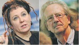 Полякинята Олга Токарчук и австрийският писател Петер Хандке