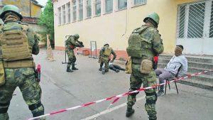 Специалните сили демонстрираха обезвреждане на терорист