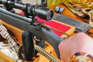 почистване на ловно оръжие