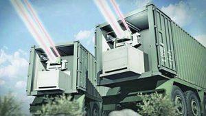 Пересвет боен руски лазер